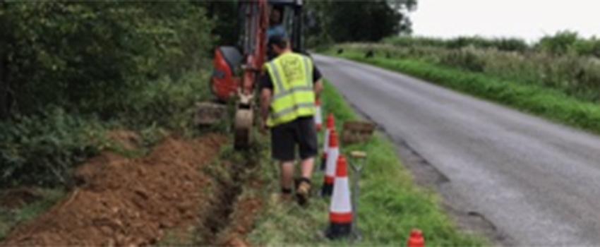 East Haddon Water Pipe